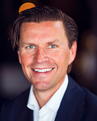 Daniel Stenbäck, Chief Development Officer på Nordic Choice Hotels