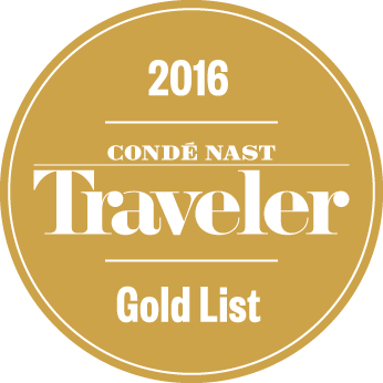Udmarkelse Conde Nast Gold List 2016